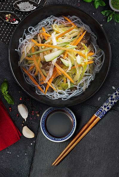 Традиционный овощной салат